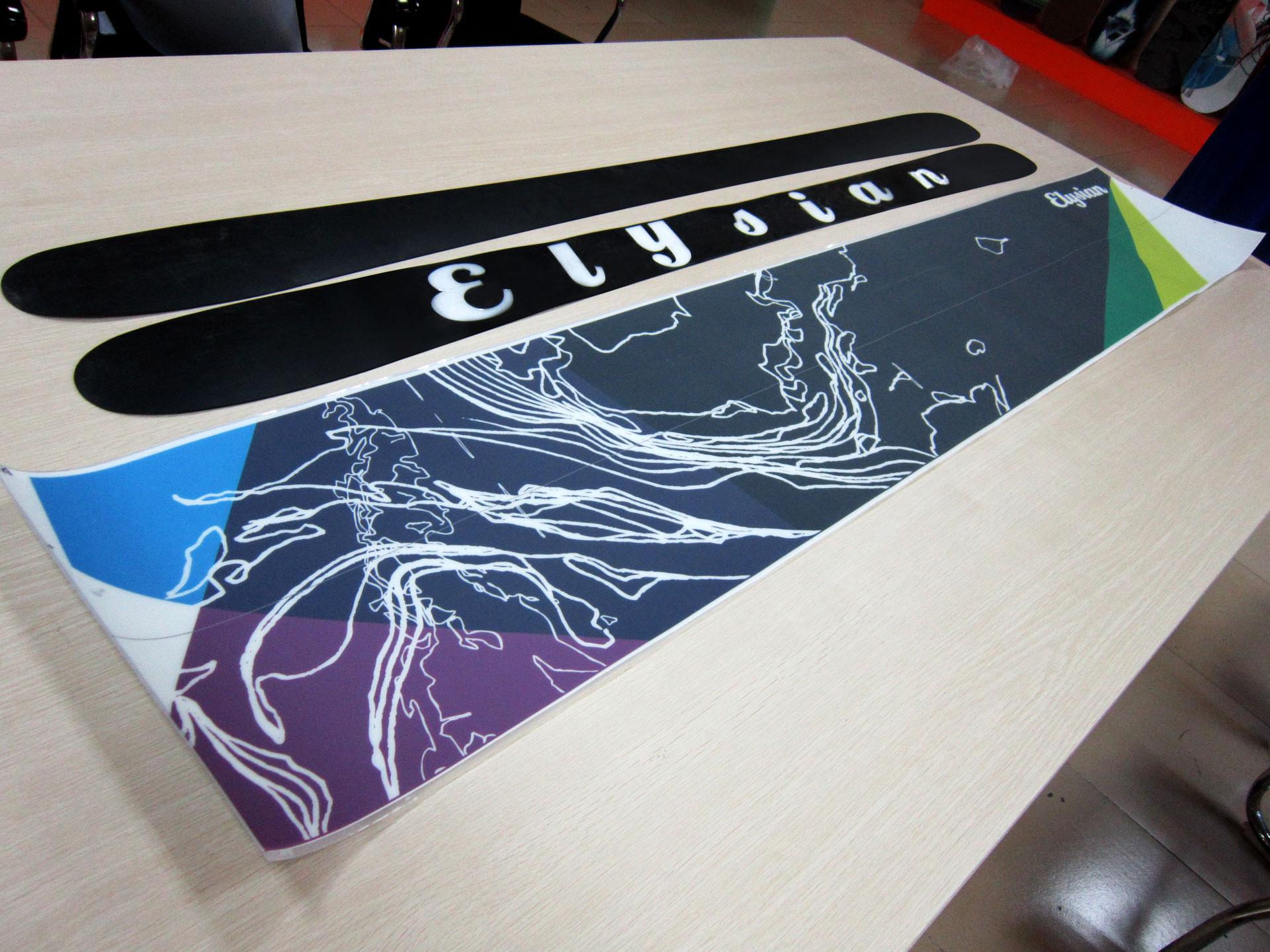 Elysian Sports Skis