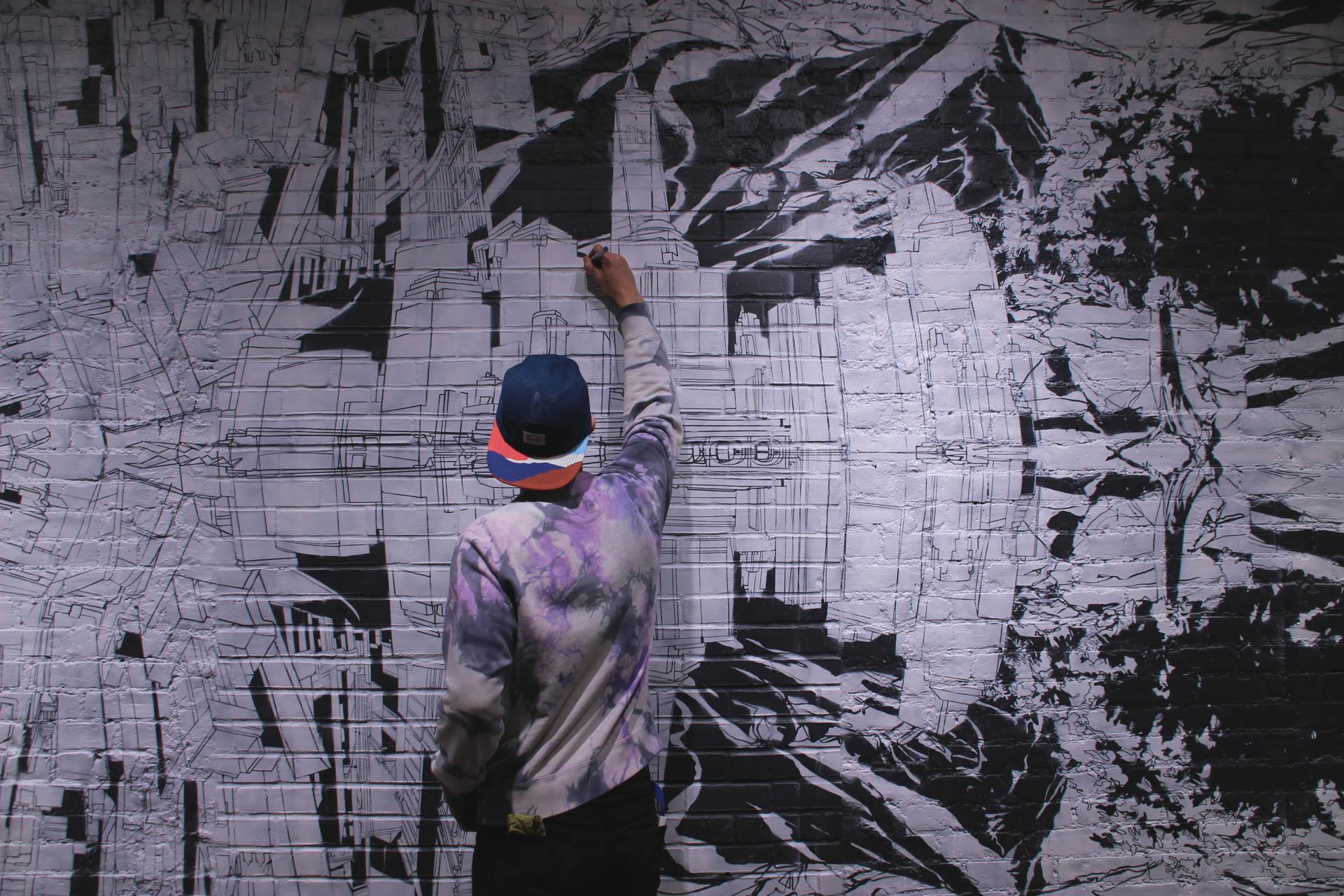 Arc'teryx Mural SOHO Process